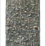 autor: Barbara Tryka; tytuł: Forma organiczna; technika: tkanina wielosplotowa; rok: 2008/2009; wymiary: 120x200cm; nauczyciel prowadzący: Marta Wasilczyk, Anna Łoś