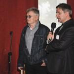 Od lewej: prof. Józef Mrozek (ASP Warszawa), Dyrektor ZSP im. C.K. Norwida w Lublinie Krzysztof Dąbek