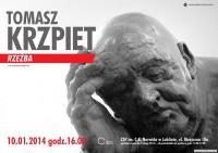 Wystawa rzeźby Tomasza Krzpieta