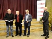 Odczytanie listy laureatów jury