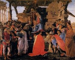 Botticelli, Pokłon Trzech Króli, 1475