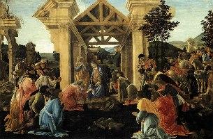 Botticelli, Pokłon Trzech Króli, 1482