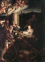 Correggio, Pokłon pasterzy, 1530