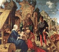 Durer, Pokłon Trzech Króli, 1504