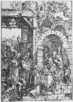 Durer, Pokłon Trzech Króli, 1505