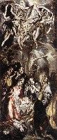 El Greco, Pokłon pasterzy, 1600