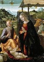 Ghirlandaio, Narodziny, 1490