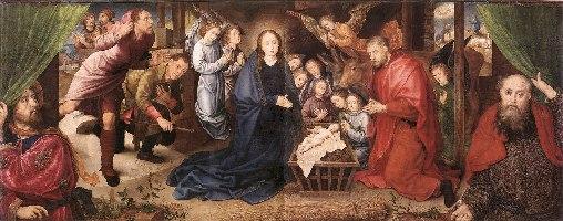 Goes, Pokłon pasterzy, 1480