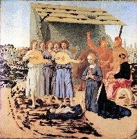 Piero della Francesca, Narodziny, 1475