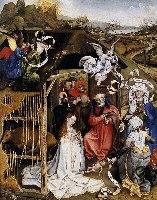 R.Campin, Pokłon Trzech Króli, 1420