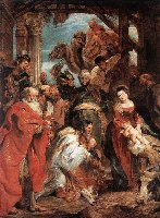Rubens, Pokłon Trzech Króli, 1624