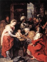 Rubens, Pokłon Trzech Króli, 1629