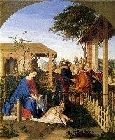 Schnorr von Carolsfeld, Święta Rodzina - odwiedziny rodziny św. Jana