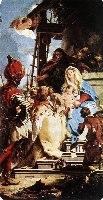 Tiepolo G.B., Pokłon Trzech Króli, 1753