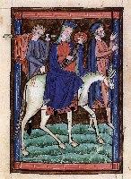 Ucieczka do Egiptu, manuscript XIII w. Venice