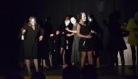 Spektakl teatralny w wykonaniu uczniów ZSP w Lublinie, reż. Anna Stefańczyk