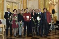 Od lewej, rząd pierwszy: wicedyr A. Tkaczyk, I. Tomankiewicz-Kozaczyńska, dyr K. Dąbek, E. Skupińska, W. Arbaczewski, K. Wereński; Od lewej, z tyłu: R. Paluch, J. Kozłowska, K. Kijewski, J. Jarosińska, A. Mazuś, W. Dziaczkowski, W. Figiel