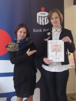 Ewa Wrona i Oliwia Dryło