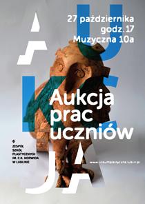 Zapraszamy na aukcję prac uczniów - 27.10.2016 (czwartek) godz. 17.00 w auli ZSP w Lublinie