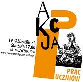 Aukcja prac uczniów i absolwentów - 19.10.2017, godz. 17.00 w auli ZSP w Lublinie.