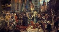Jan Matejko, Konstytucja 3 maja 1791. Kliknięcie w miniaturkę obrazka spowoduje wyświetlenie powiększonego zdjęcia.