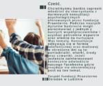 Darmowe konsultacje psychologiczne dla młodzieży.