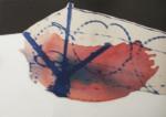 Praca malarska (abstrakcja) Ireny Zieniewiecz. Kliknięcie w miniaturkę obrazka spowoduje wyświetlenie powiększonego zdjęcia.