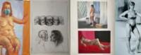 Pięć prac z rysunku i malarstwa studentów I-go roku studentów ASP w Warszawie. Malarstwo: trzy akty kobiece. Rysunek: postać kobiety, czaski ludzkie i dwa popiersia. Kliknięcie w miniaturkę obrazka spowoduje wyświetlenie powiększonego zdjęcia.