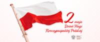 Flaga Rzeczypospolitej Polskiej. Kliknięcie w miniaturkę obrazka spowoduje wyświetlenie powiększonego zdjęcia.