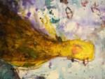 Prace artystki wiszą na ścianach galerii. Kliknięcie w miniaturkę obrazka spowoduje wyświetlenie powiększonego zdjęcia.