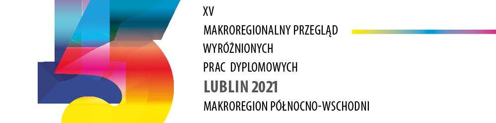 "Plakat XV Biennale Dyplom ""2021"""
